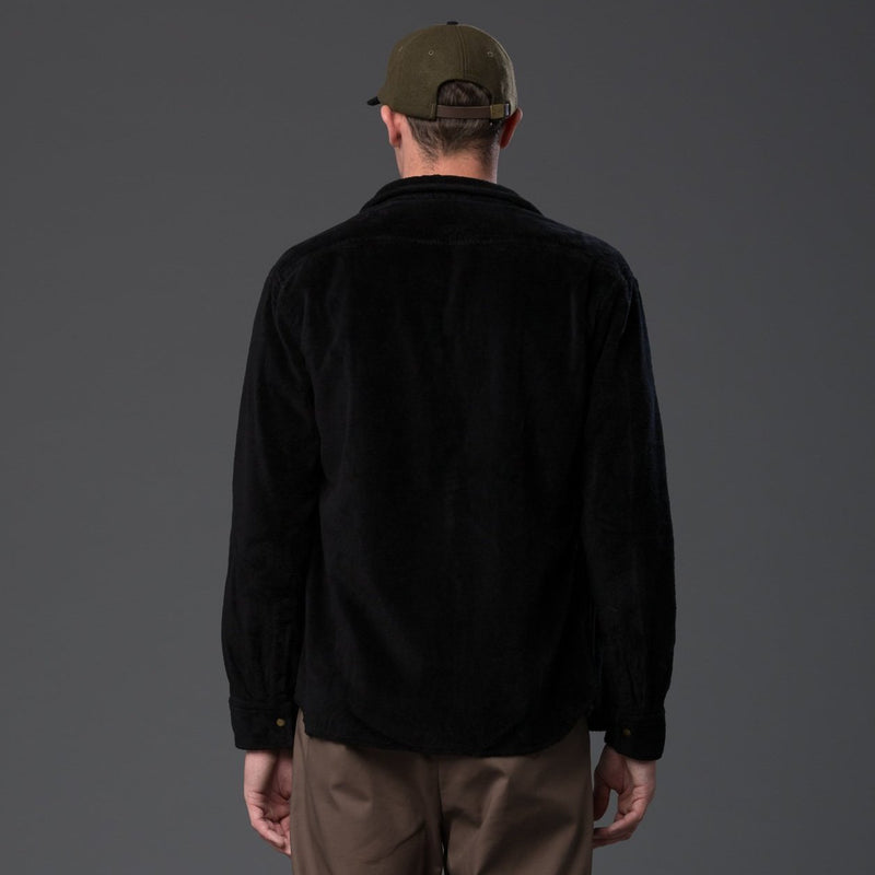 Adam Mar Terry Shirt Black