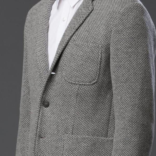 Krammer and Stoudt Grey Tailored Jacket