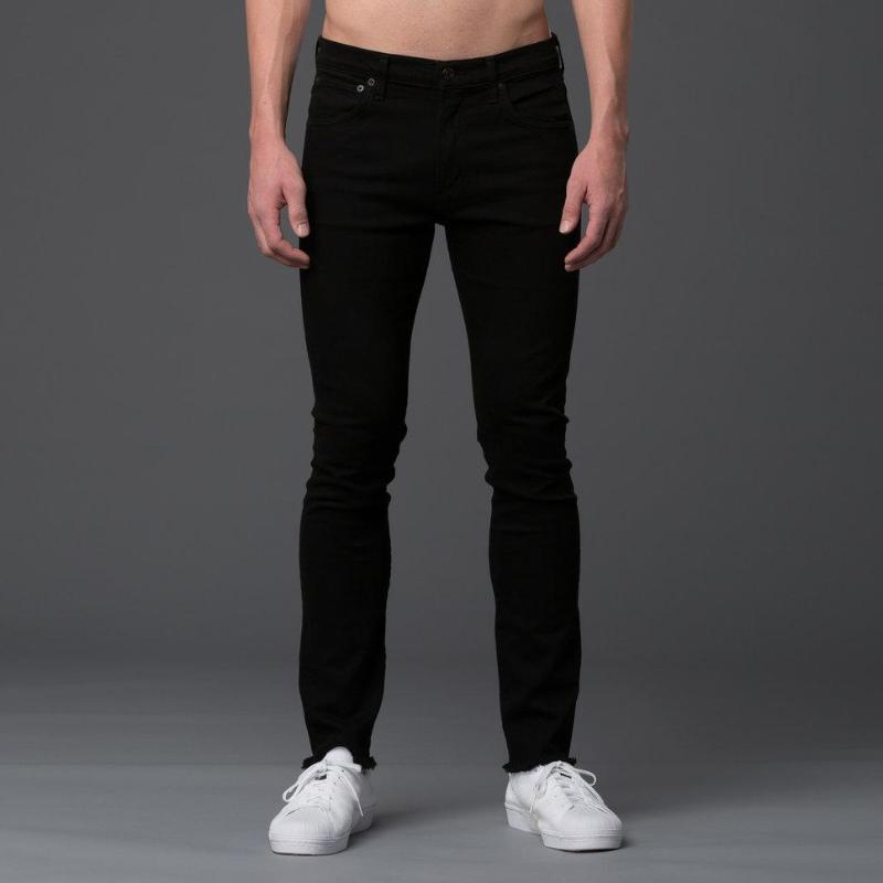 AGOLDE Super Skinny Jeans in Black