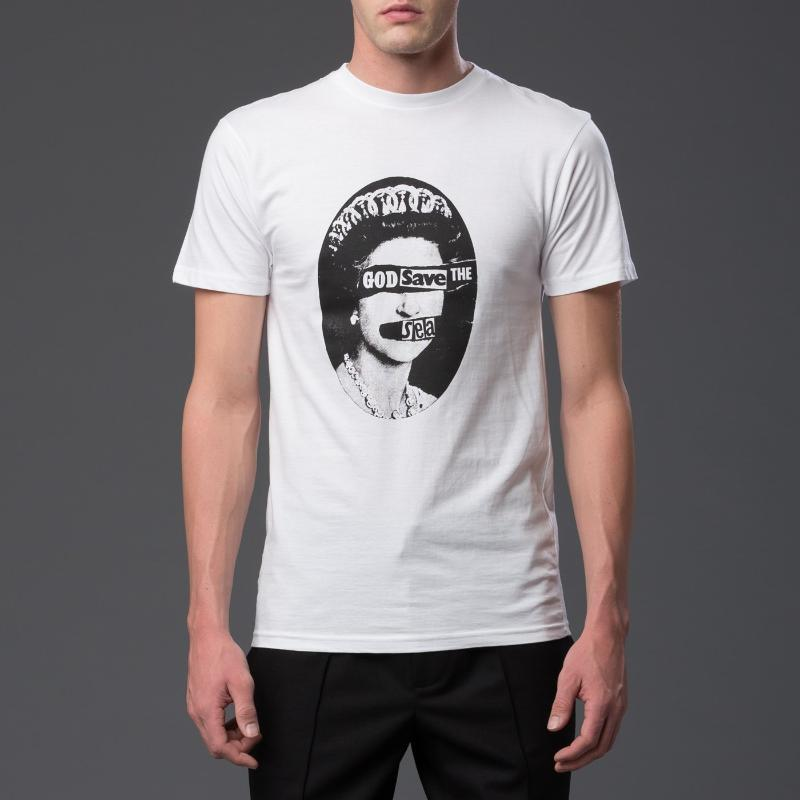 Thaddeus O'Neil God Save The Sea Tee