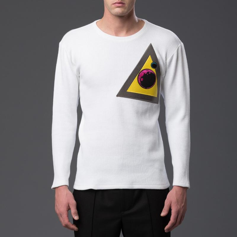 NP Elliott Triange Patch Long Sleeve Shirt