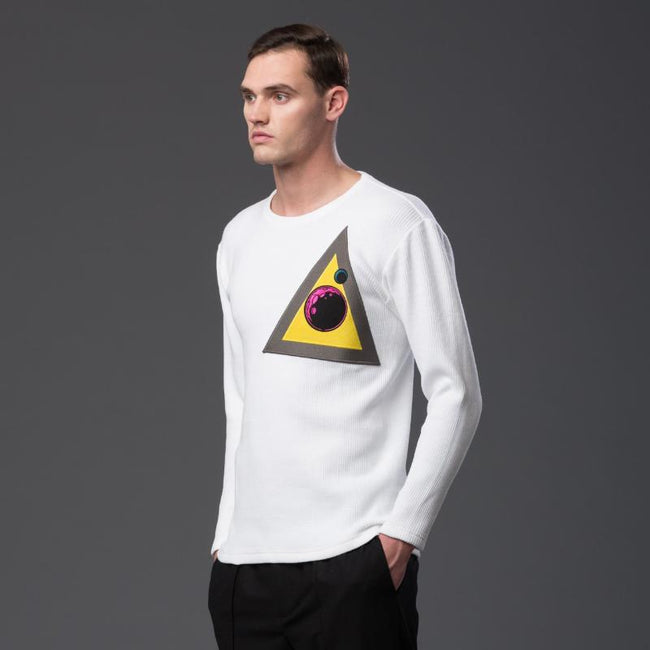 NP Elliott White Graphic Tee Shirt