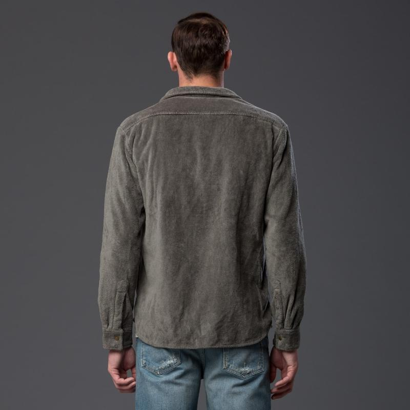 Adam Mar Terry Shirt in Olive