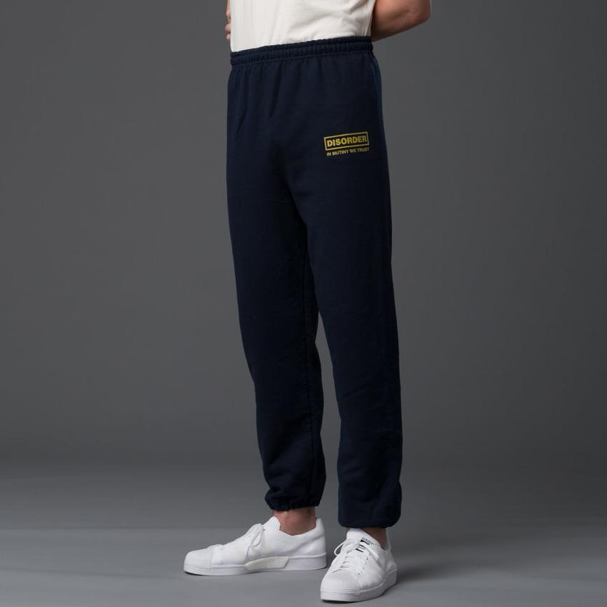 Head Of State Mens Navy Sweatpants