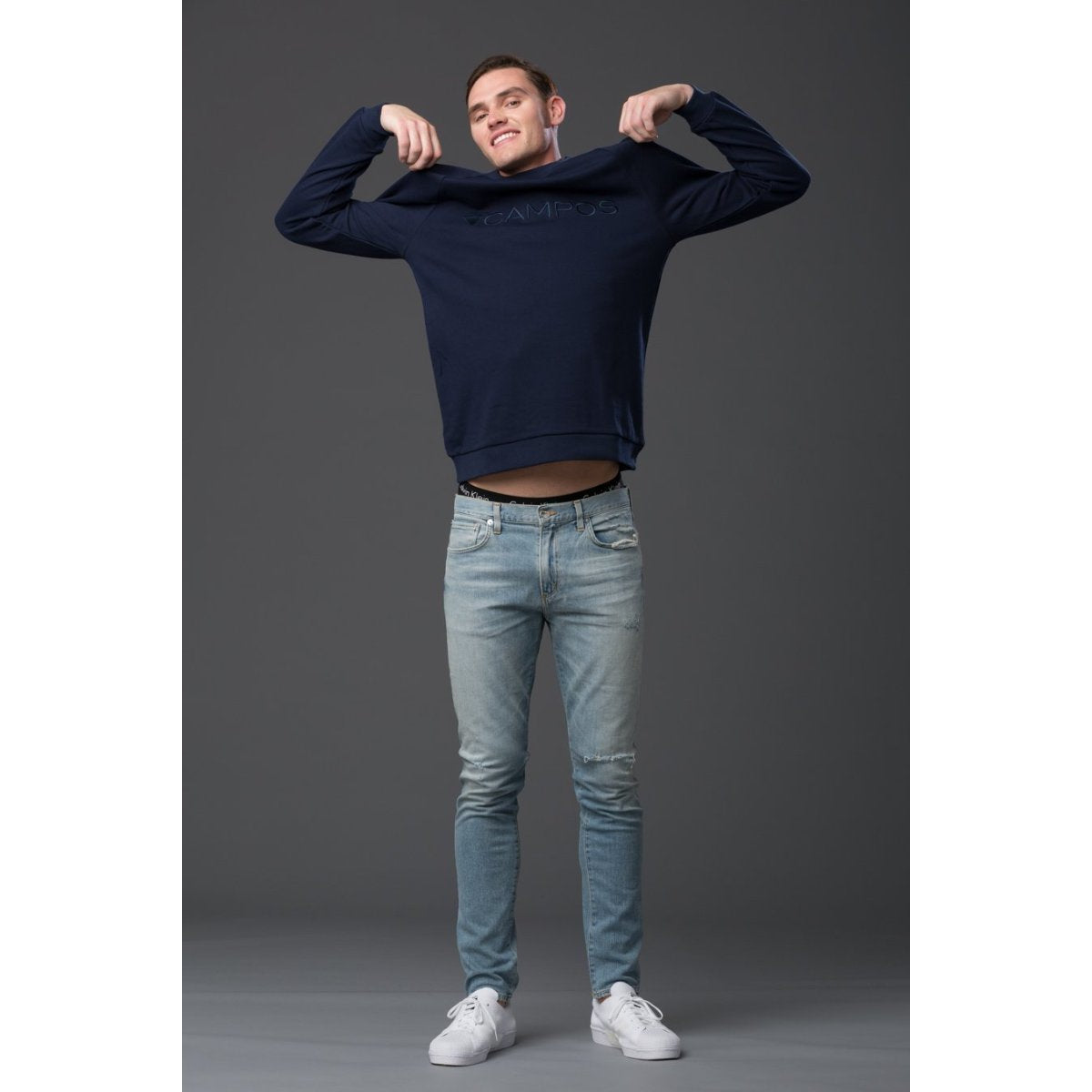 Mens Sweatshirt Navy