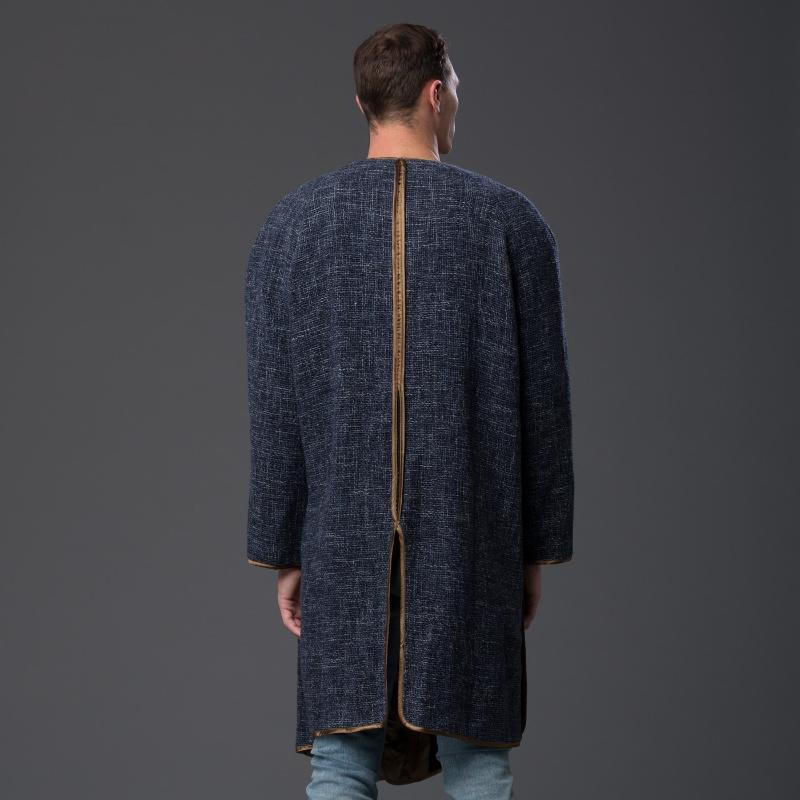 Thaddeus O'Neil Indigo Disco Coat
