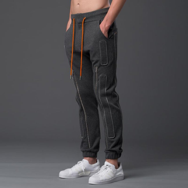 NP Elliott Grey Fleece Sweatpants