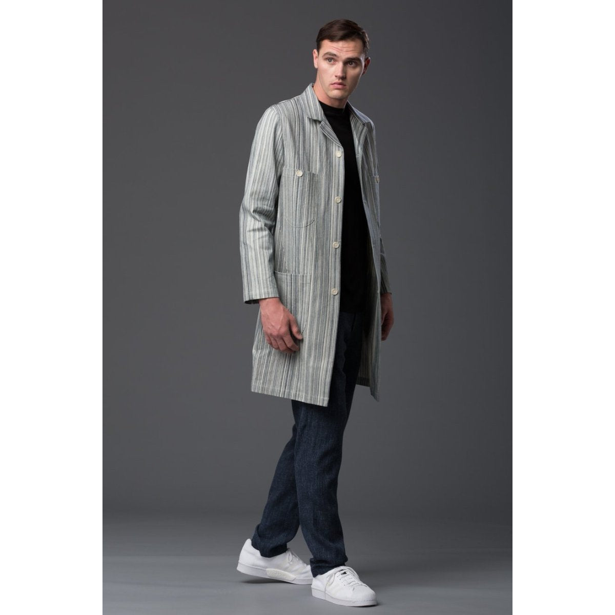 Krammer and Stoudt Denim Chore Coat