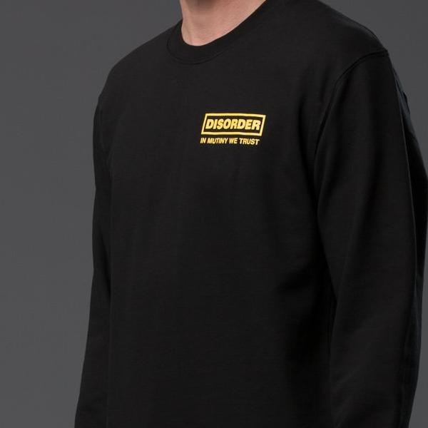 Head of State Black Pullover