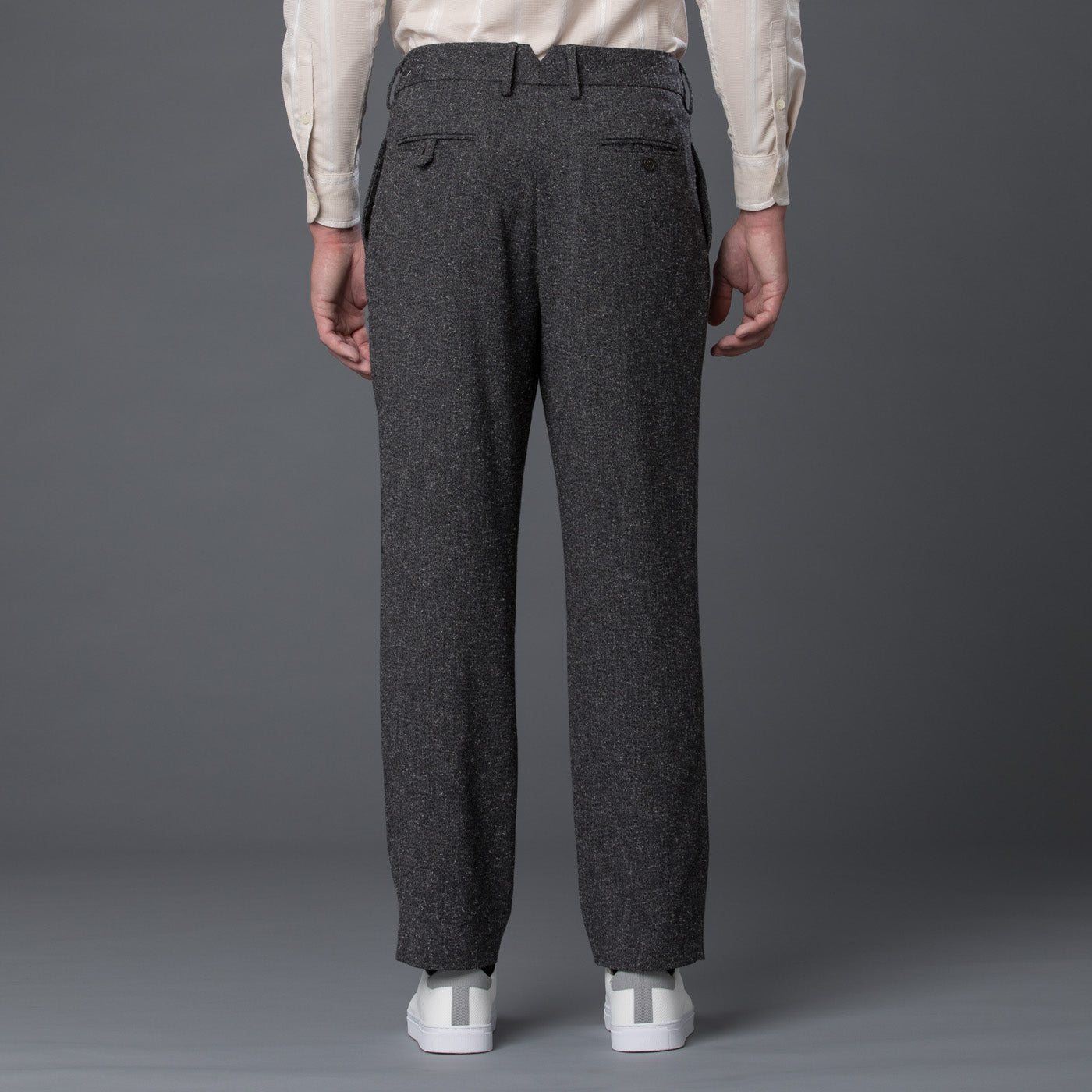 Krammer and Stoudt Grey Cooper Trouser