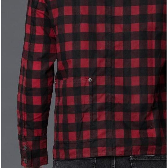 Freemans Sporting Club Red Plaid Chore Jacket