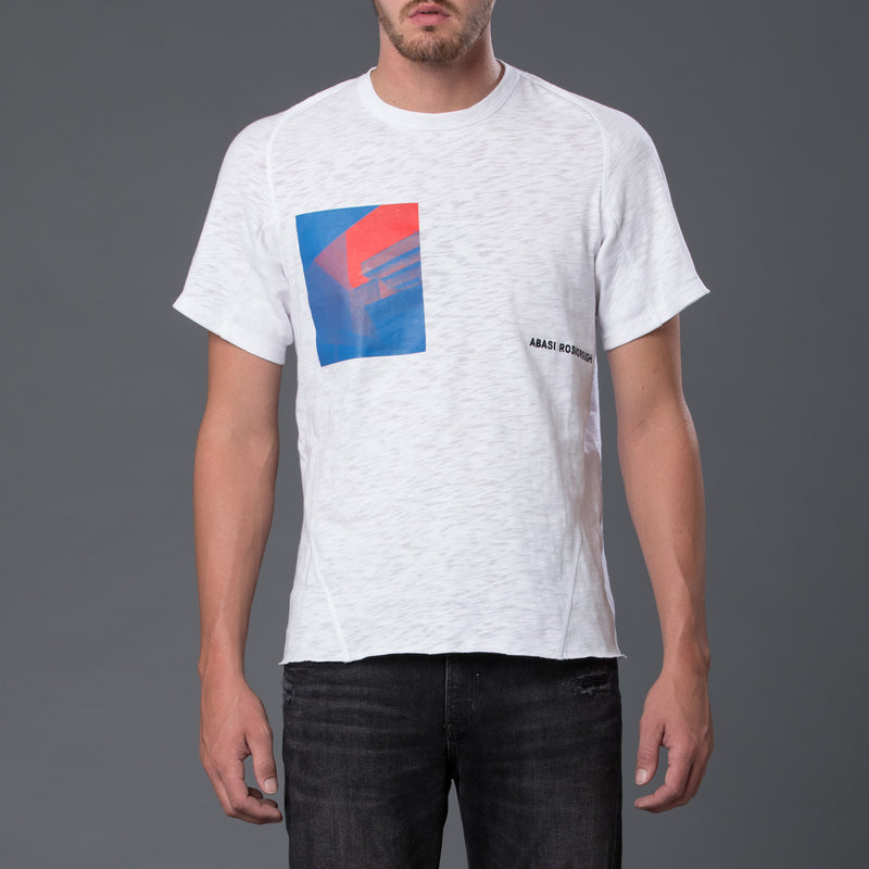 Abasi Rosborough Arc Tee Shirt in White