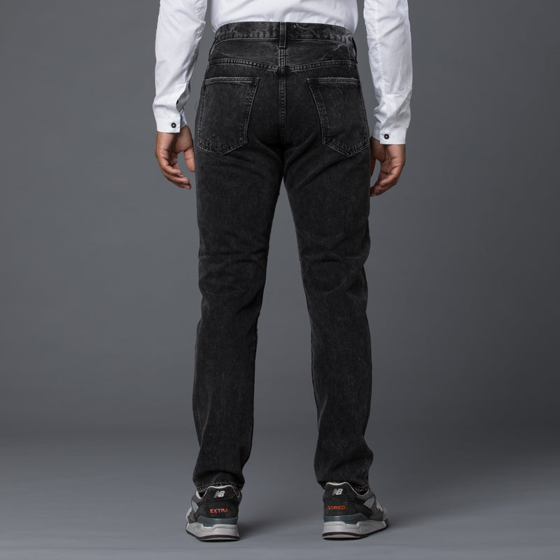AGOLDE Hero Jean in Black Denim
