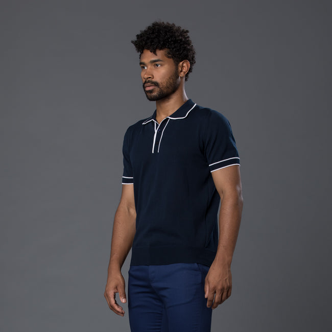 David Hart Navy Polo Shirt