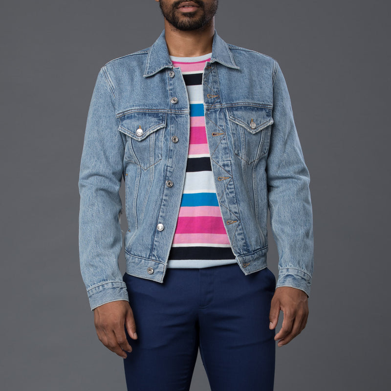 AGOLDE Preston Jean Jacket in Trelick