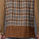 Grei New York Long Sleeved Flannel Boxy Shirt