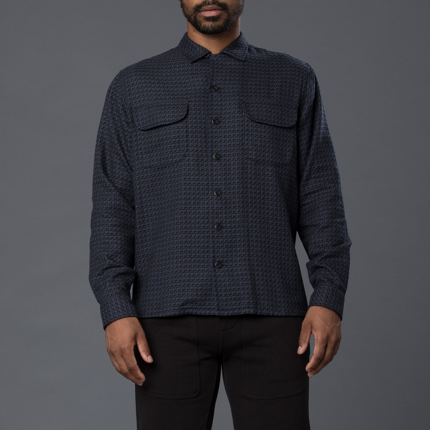 Krammer & Stoudt Jacquard Cesar Two-Pocket Shirt