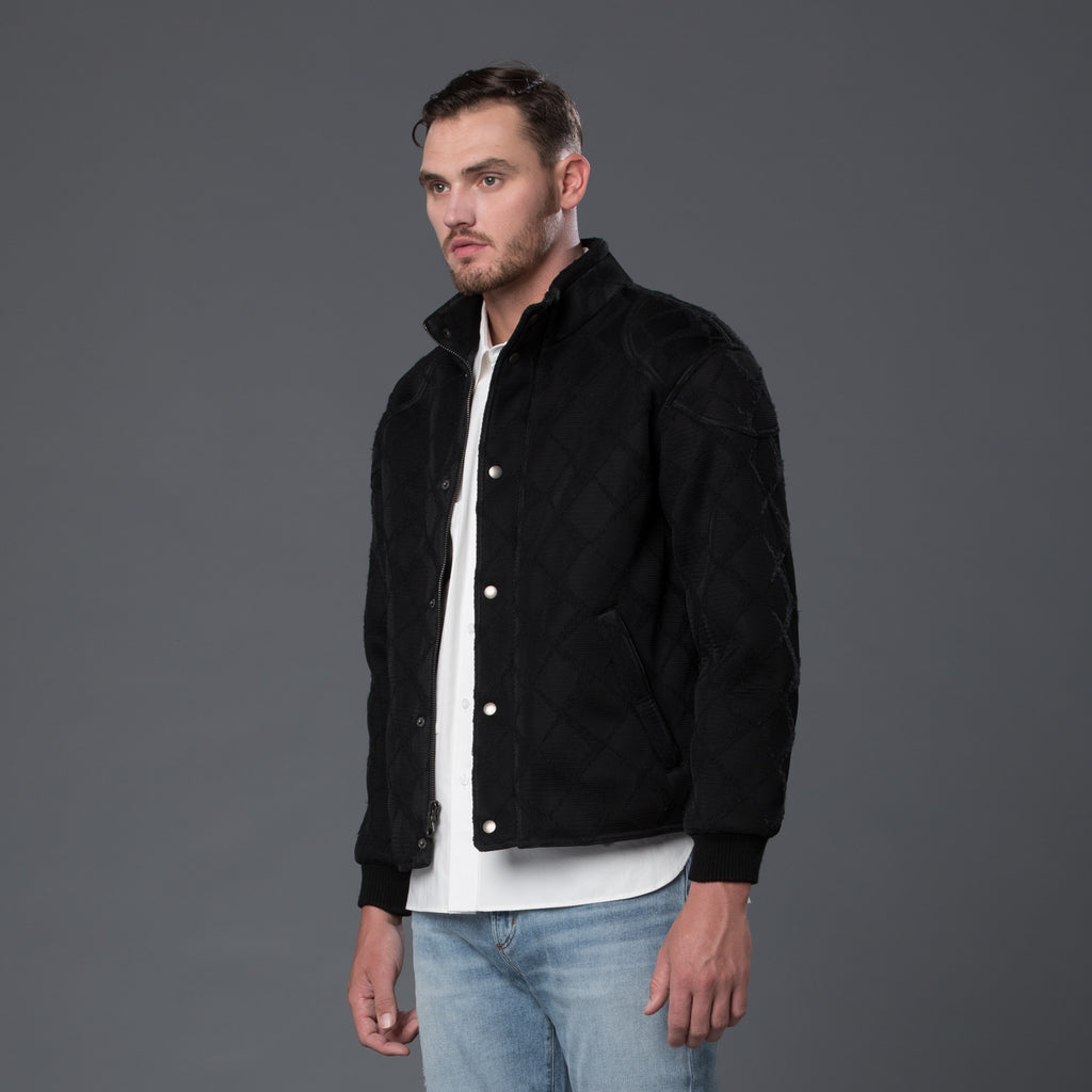 Krammer Stoudt Black Bomber Jacket