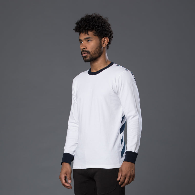 Freemans Sporting Club Long Sleeve Striped Tee Shirt