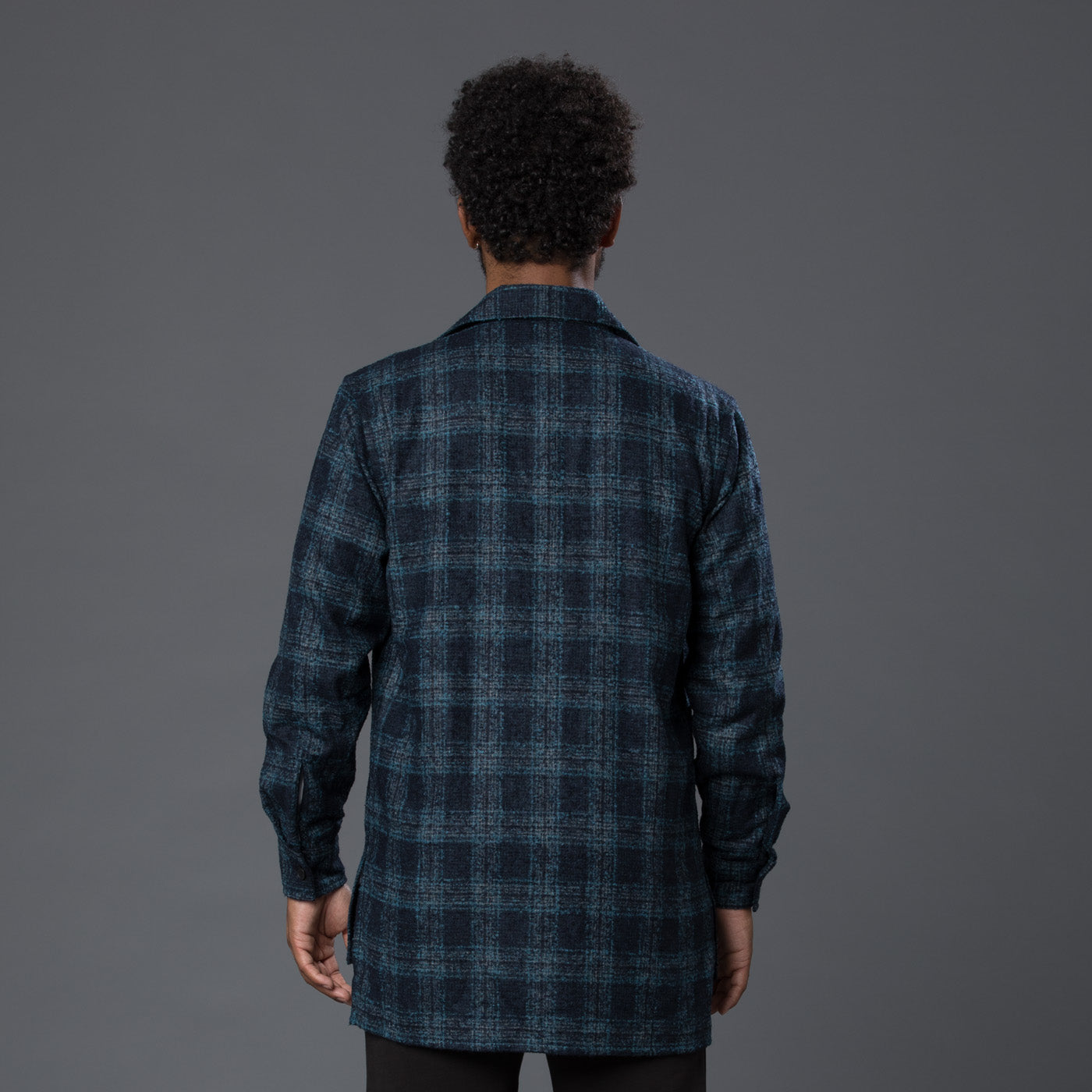 Deveaux Loro Piana Plaid Shirt