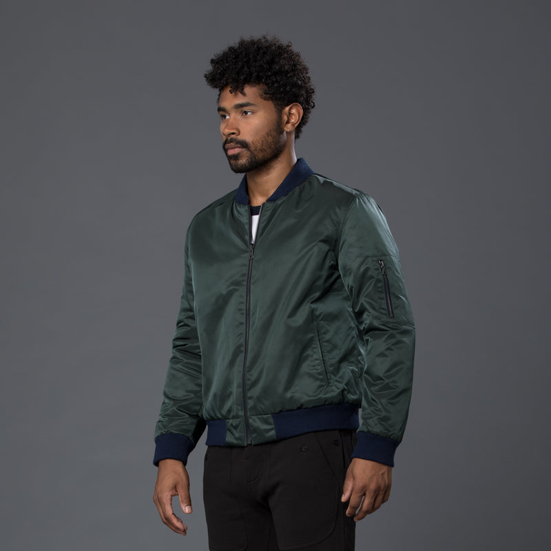 Krammer & Stoudt Green Reversible Nylon Jacket