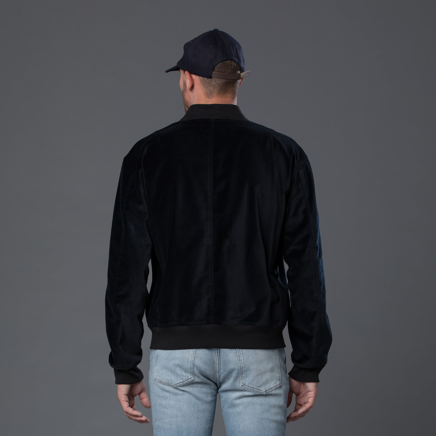 s.k. manor hill Velvet Jacket