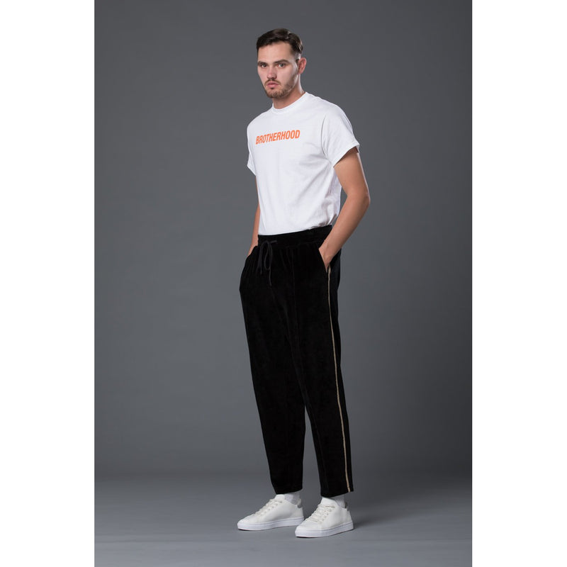 s.k. manor hill Black Velvet Pant