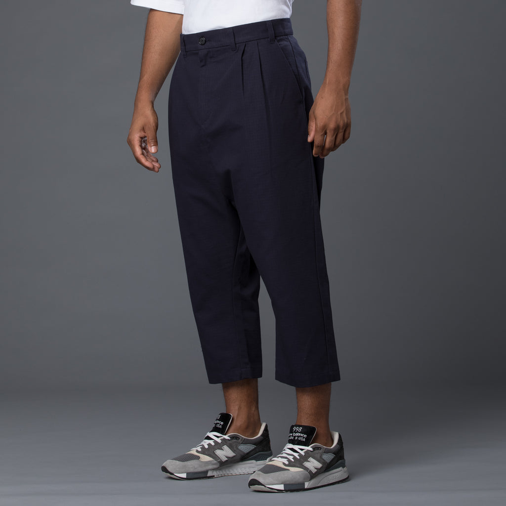 Grei New York Navy Cropped Herman Pant
