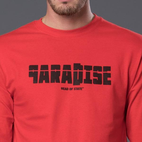 """PARADISE"" Long Sleeve Tee Shirt"