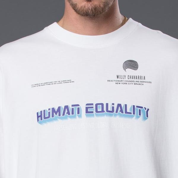 Willy Chavarria Human Equality Buffalo Tee