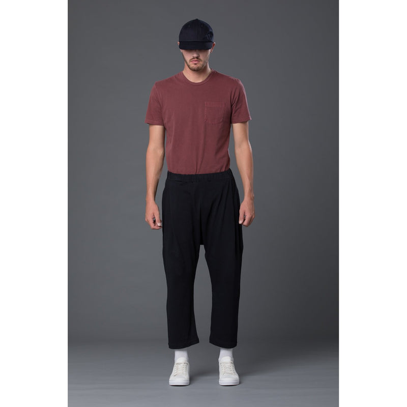 Willy Chavarria Cotton Jersey Drop Rise Pants