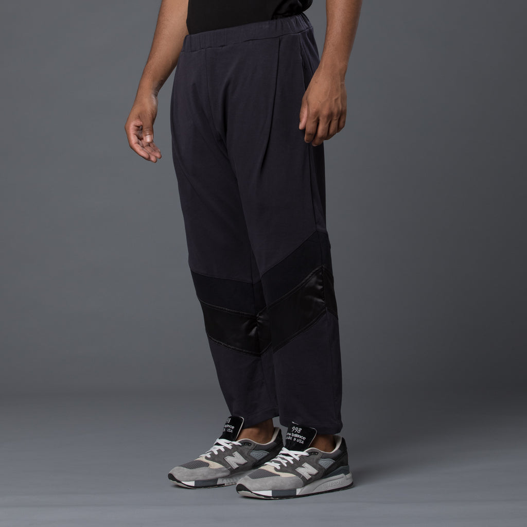 Willy Chavarria Black Hustler Track Pant
