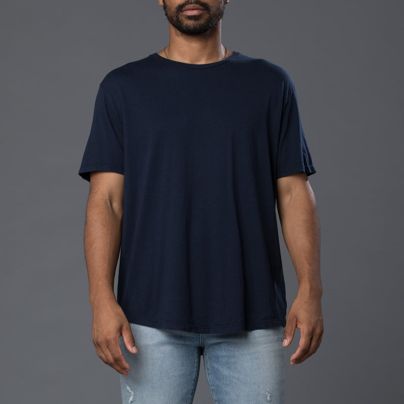 Grei New York Midnight Hand Dyed Pigment Crewneck Tee
