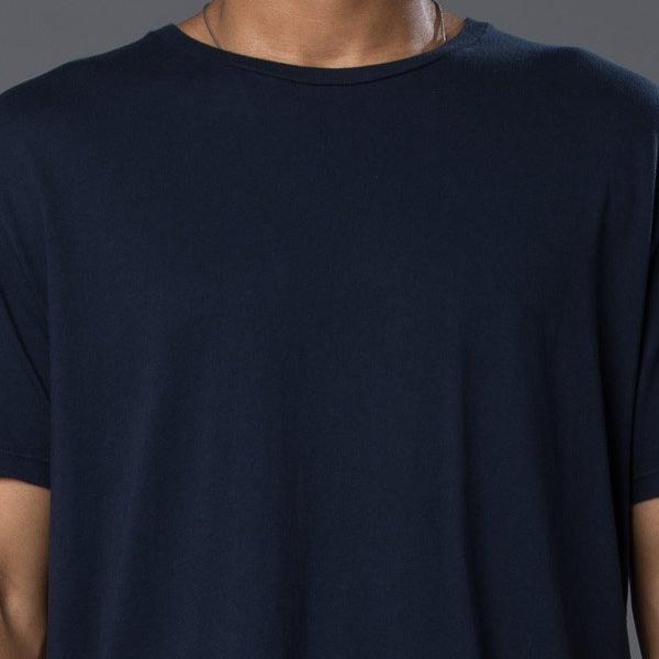 Grei New York Navy Hand Dyed Pigment Crewneck Tee