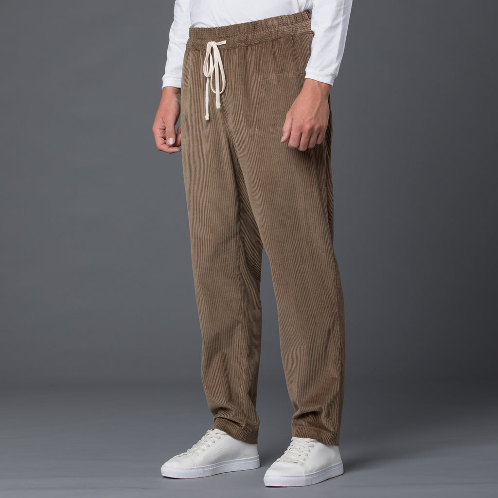 s.k. manor hill Taupe Corduroy Coma Pant