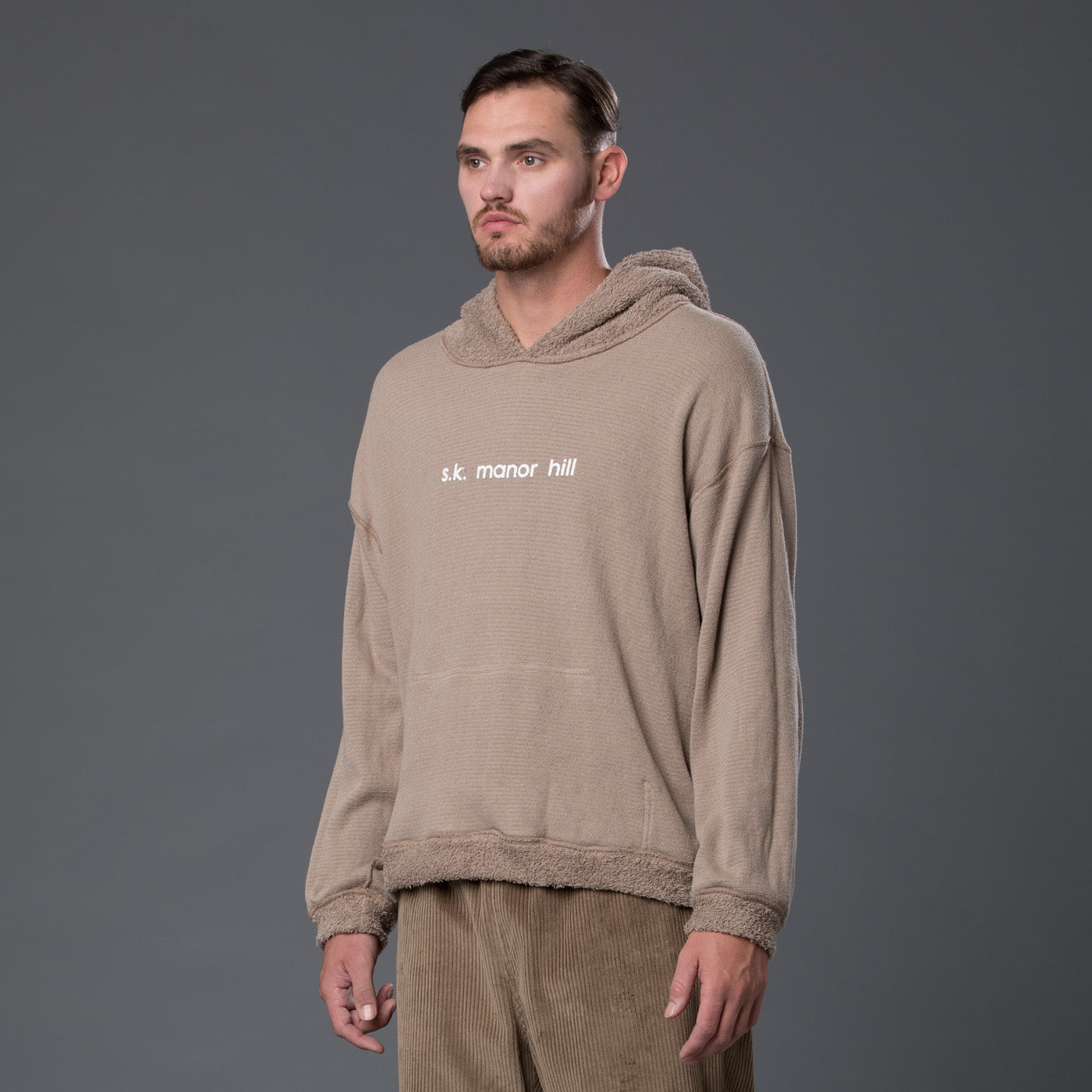 s.k. manor hill Reversible Hoodie