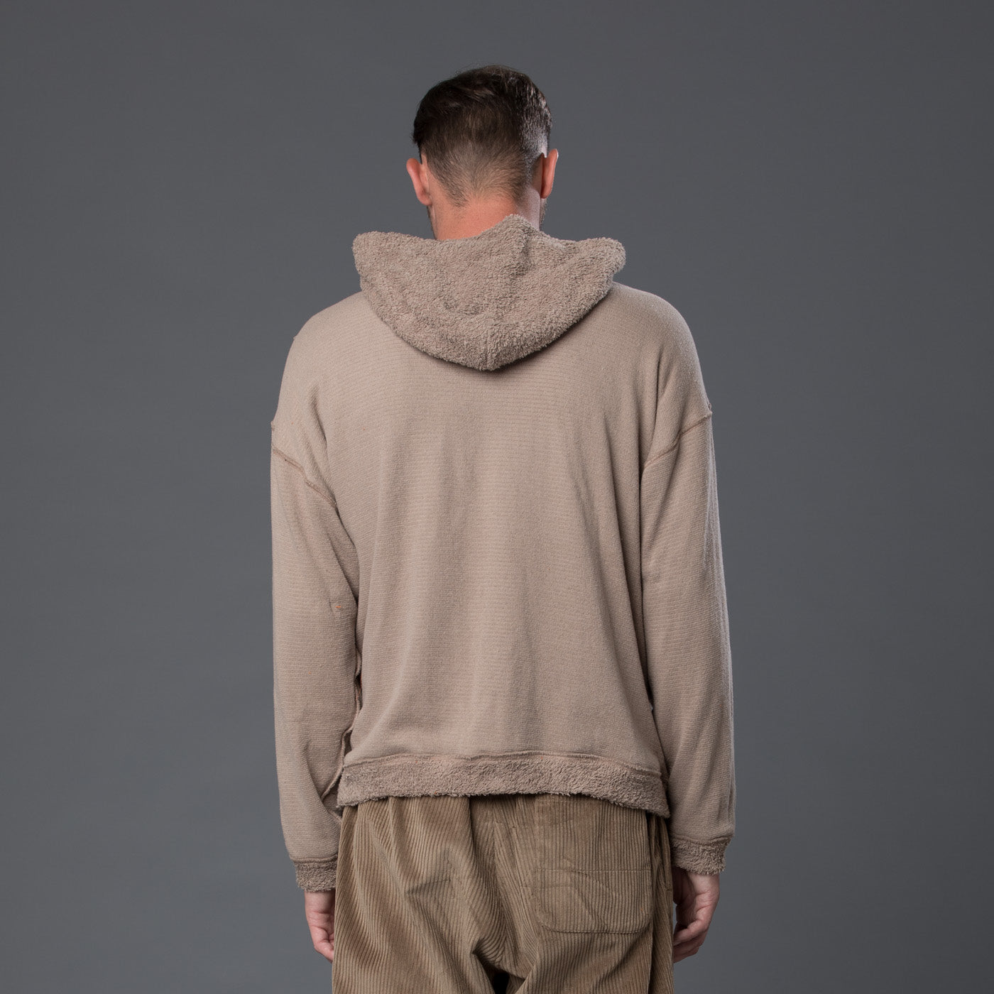 s.k. manor hill Taupe Hoodie