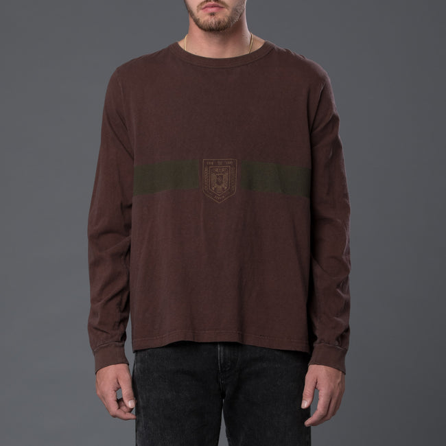 Robert Geller F.C. Charlottenburg Long Sleeve Tee