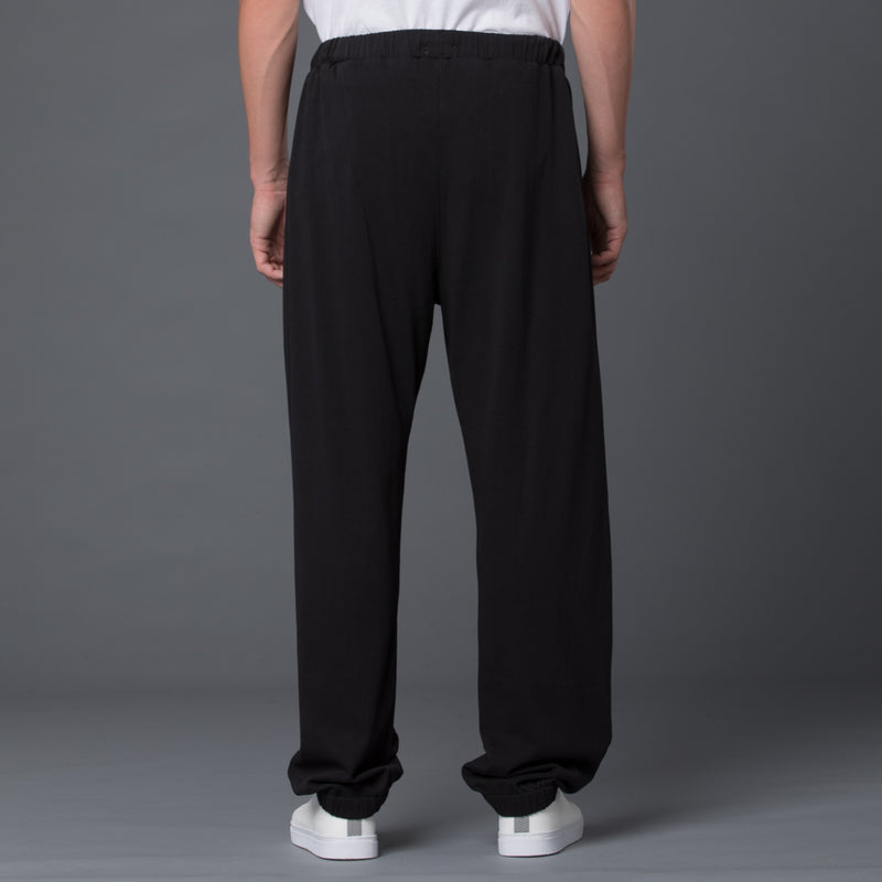 Willy Chavarria Black Sweatpant