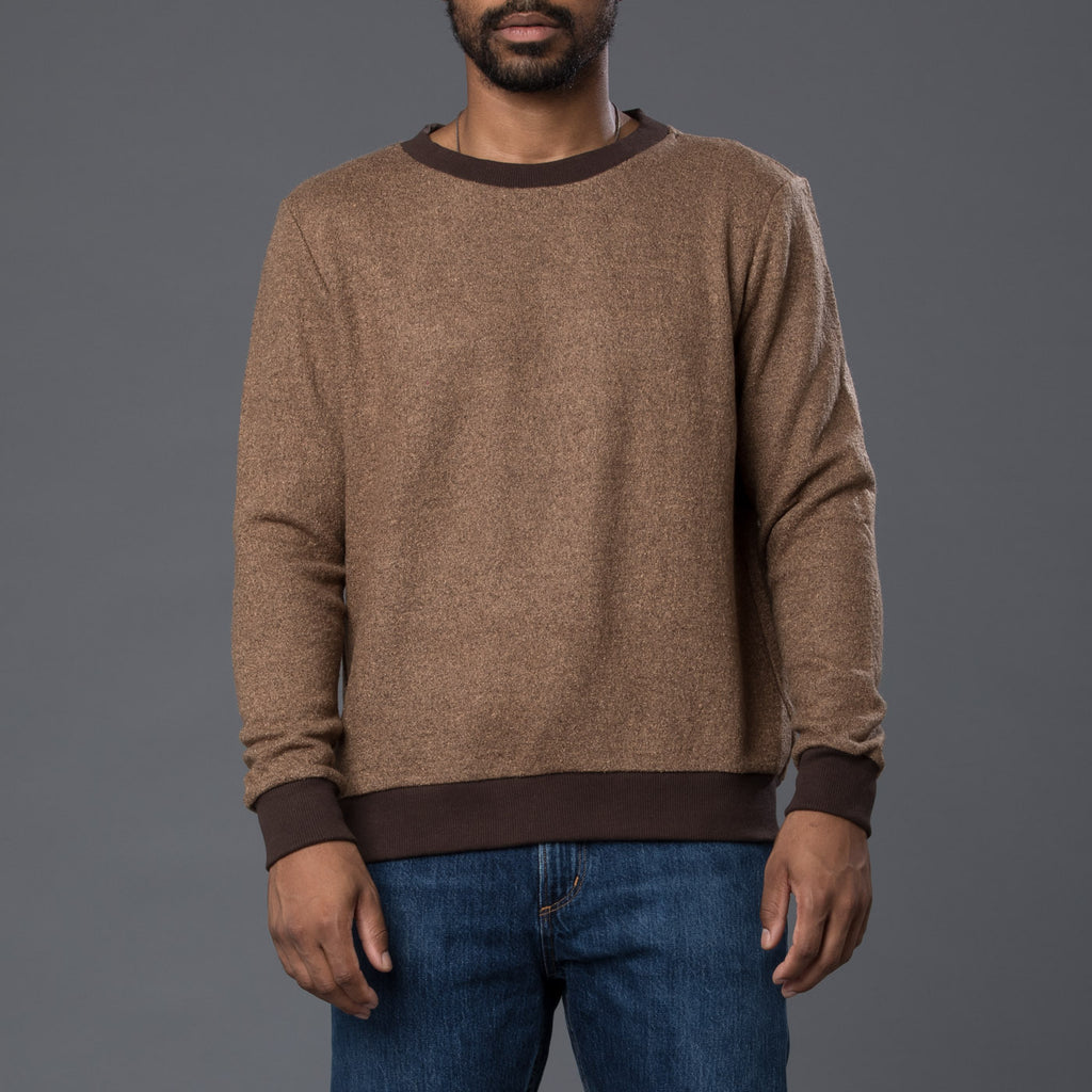 Thaddeus O'Neil Brown Wool Sweater