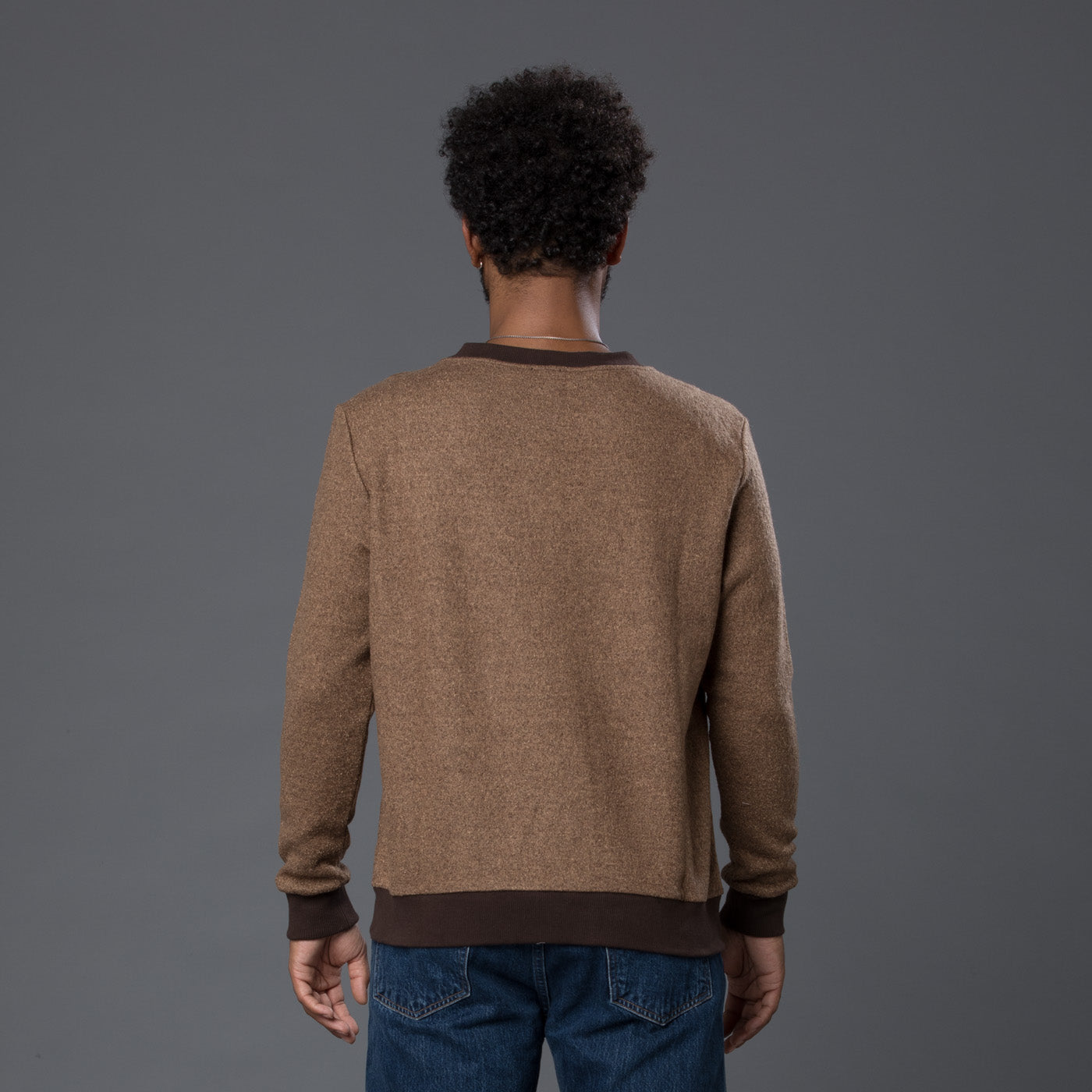 Thaddeus O'Neil Brown Sweater