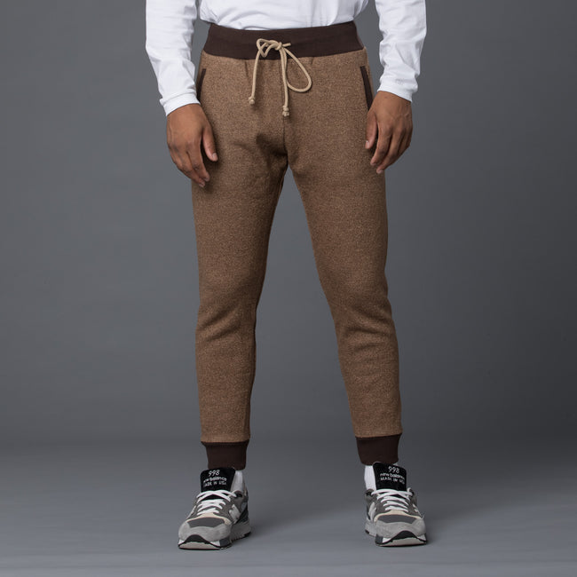 Thaddeus O'Neil Brown Wool Jogger Pant