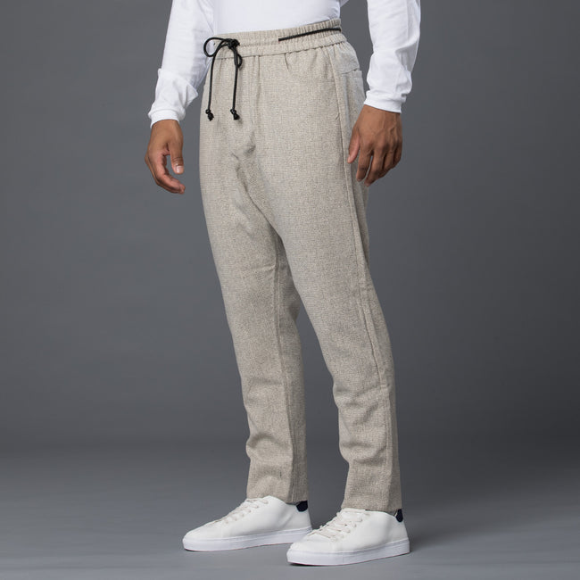 Thaddeus O'Neil Wool Silk Drawstring Pants