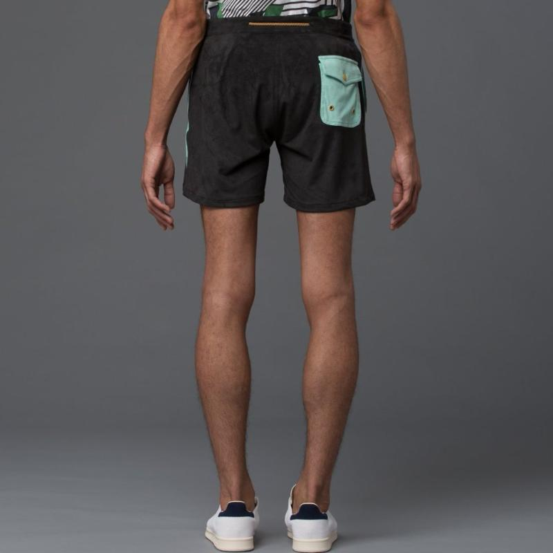 Thaddeus O'Neil Black Board Shorts