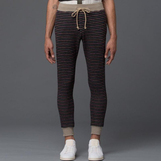 Thaddeus O'Neil Multi Striped Jogger