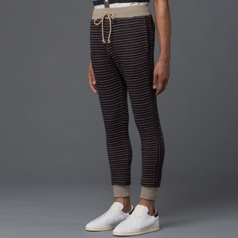 Thaddeus O'Neil Striped Sweatpant