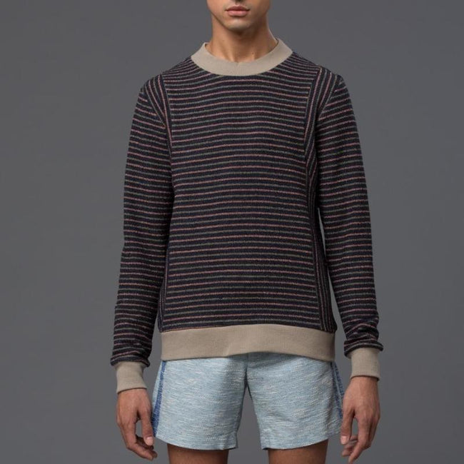 Thaddeus O'Neil Striped Sweater