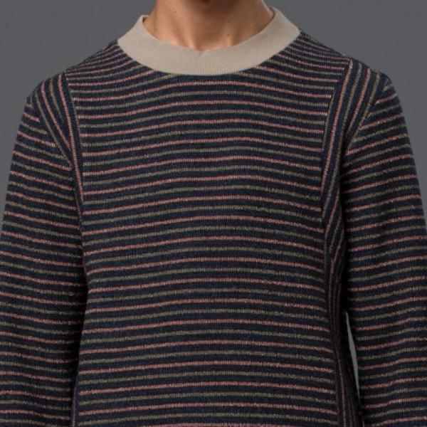 Thaddeus O'Neil Striped Jumper