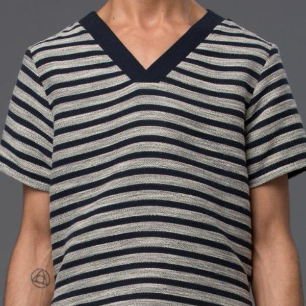 Thaddeus O'Neil V-Neck Tee Shirt