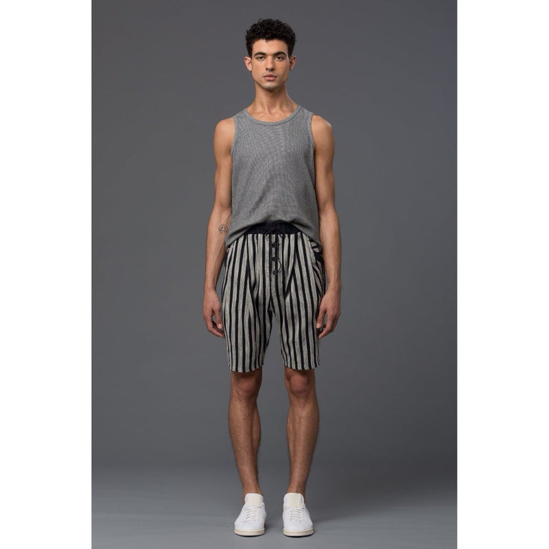 Thaddeus O'Neil Striped Shorts